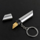 Toothpick Holder with Keychain - Silver (20-Toothpick)