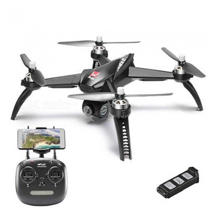 MJX Bugs 5W B5W 5G 1080P FHD Wi-Fi FPV One-Axis Gimbal RC Quadcopter RTF with Extra Battery