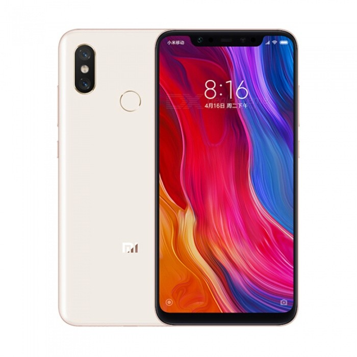 Xiaomi mi 8 Android Phone with 6GB RAM, 128GB ROM