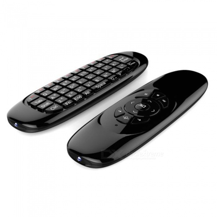 C120 Backlight Fly Air Mouse Wireless Game Keyboard Rechargeable 2.4GHz Universal Smart Control Remote for Android Tv Box PC