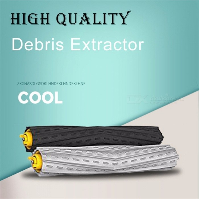 High Quality 2 Set Tangle-Free Debris Extractor + 4 Hepa Filters + 6 Side Brushes For IRobot Roomba 880/990 Series Multi