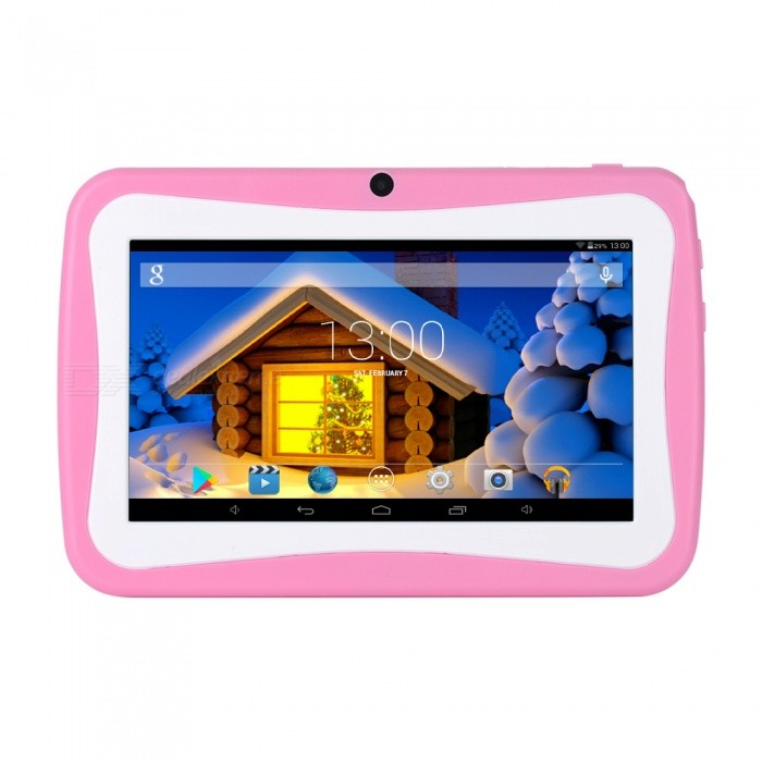 M755 Children Tablet 7quot Wifi Android 5.1 Quad Core 8GB Kids Study Tablets Support TF Card