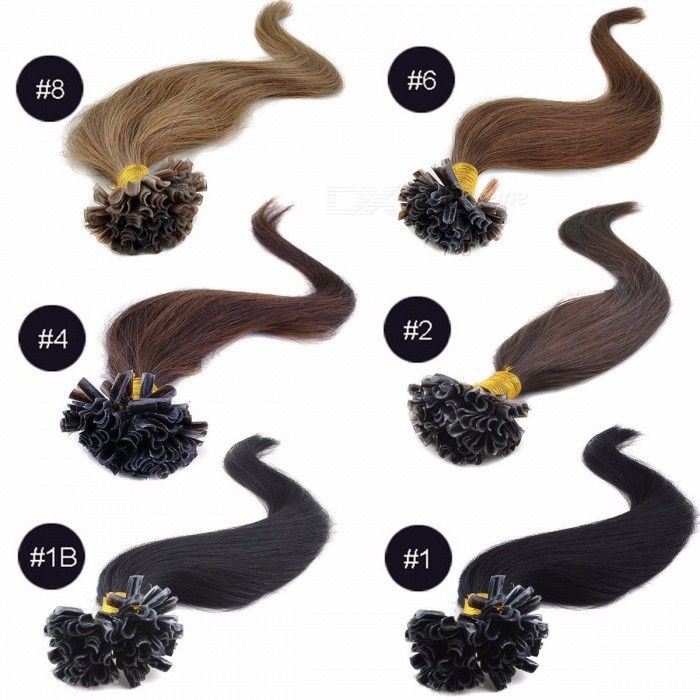 10025-Original-Soft-Human-Hair-Bundles-18-Inches-Nail-U-Tip-Capsule-Human-Hair-Extension-(100-Strands)-118-inches100-Strands