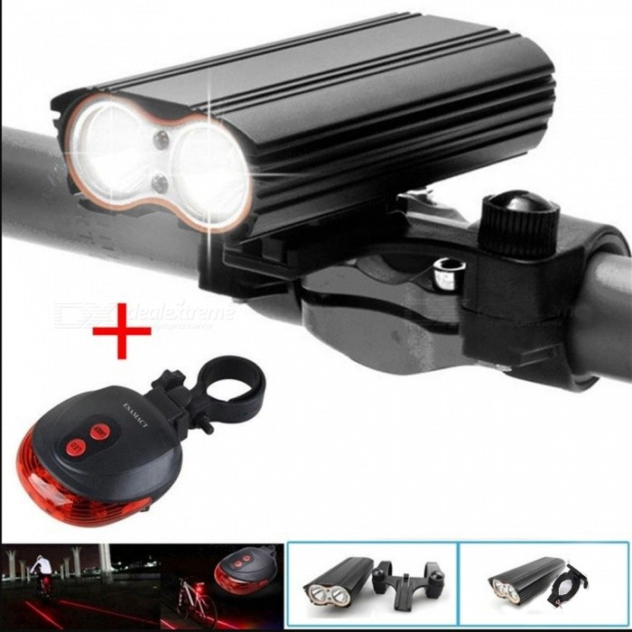 ESAMACT 7000 Lumen XM-L T6 LED Bike Light, USB Rechargeable Bicycle Light Lamp Torch Flashlight