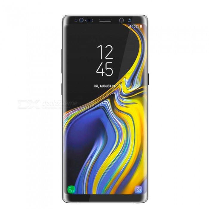 3D Curved Edge PET Screen Film Guard Protector for Samsung Galaxy Note 9 - Transparent