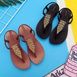 Beach-Sandals-Flat-With-Flower-Tree-Ankle-Strap-Sandals-Bohemian-Flip-Flops-For-Womens-Black36