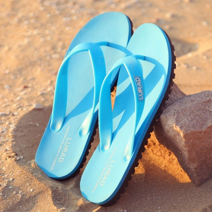 LURAD-2018-Summer-Beach-Slippers-Shoes-Casual-Flip-Flops-Mens-Sandals-Shoes-For-Men-Outdoors-Shoes-Sky-Blue39