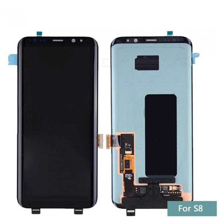 Original LCD Touch Screen Digitizer Super AMO LED Mobile Phone Screen Replacement G950F For Samsung S8-G950 Black