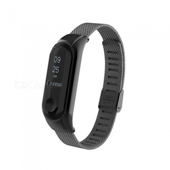 Metal Replacement Wrist Band Strap for Mi Band Miband 3 Smart Bracelet