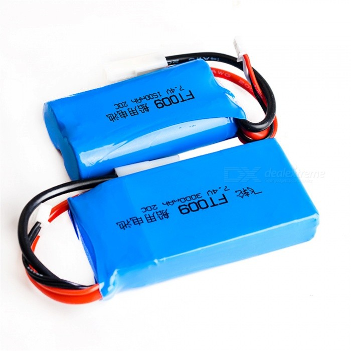 7.4V 20C 3000mAh Rechargeable High Li-ion Battery with EL2P Plug for RC Remote Control Helicopter Quadcopter Drone