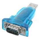 USB to RS232 Dongle with Extension Cable - Blue