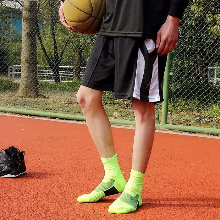 Basketball Sweat Towels: Thickened Sports Towel Socks Breathable Sweat