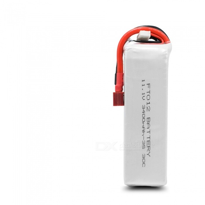1PC 11.1V 30C 3400mAh T plug for FT012 High Lipo Battery Remote Control Helicopter Quadcopter Drone Part
