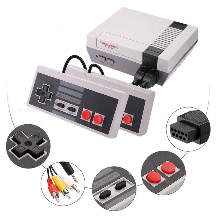 NE Mini Edition Classic Games Console Built-in 620 Classic Nintendo Games US Plug