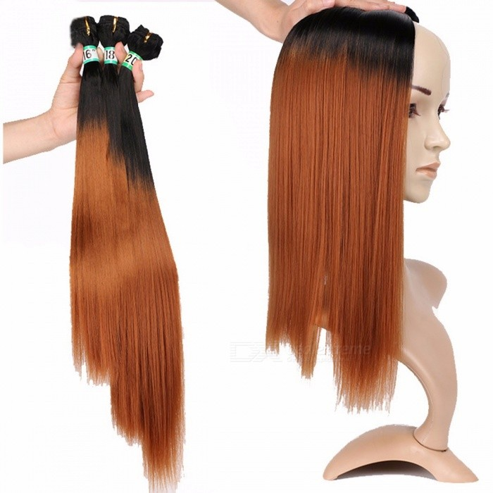 Synthetic-Straight-Hair-Bundles-10025-High-Temperature-Fibers-Hair-Extensions-FSR-STW-3-T130-3-Bundles-Set-T13016-inches