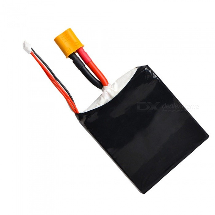 1PCS 11.1V 40C 15000mAh XT60 plug Lipo Battery for  Auto Emergency Start Power Remote Control Helicopter Quadcopter - Black