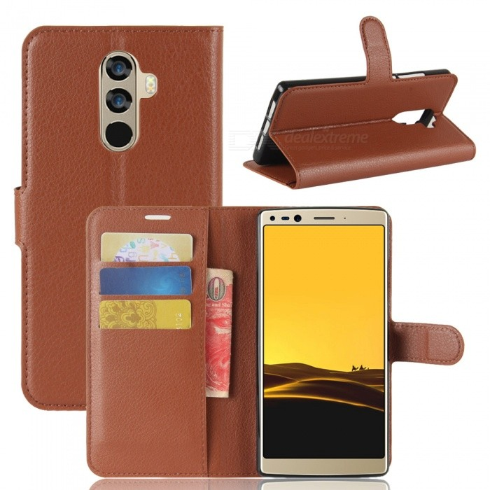 Naxtop Phone Wallet Flip Leather Holder Cover Case for Doogee Mix 2