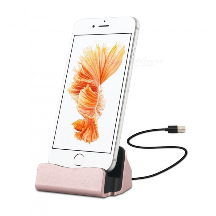 Cwxuan USB 8-pin Data Sync Charging Dock Holder Stand for IPHONE 5 5s 5c SE 6 6s 7 8 X Plus