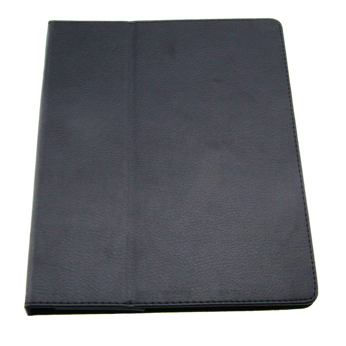 Protective PU Leather Case for   Ipad 2 - Black