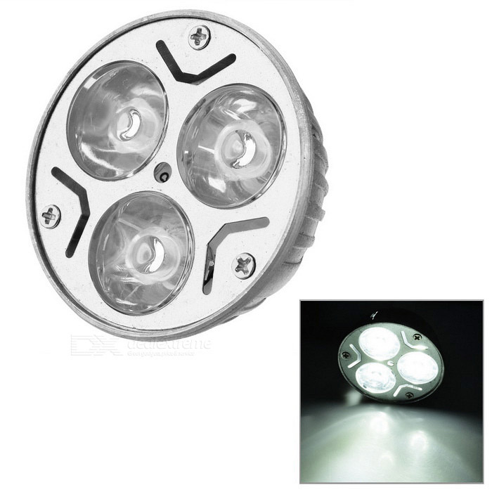 MR16 3W 240-260lm Cold White Light 3-LED Cup Bulb (12V)