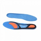 Unisex Non-Slip Sport Shoes Pad, Shock Absorption Basketball Football Badminton Silicone Soft Insoles (1 Pair) Sky Blue/41