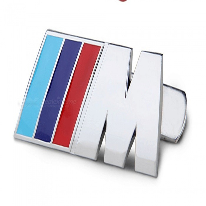 Qook Three Color Fender Side Rear Luggage Logo Decal Badge Stickers Jhbmw 001 For All Bmw