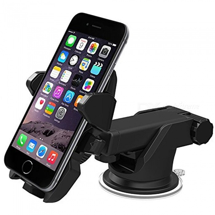 360-degree Car Windscreen Holder Mount for IPHONE X / HuaWei P20 / Samsung S9 / GPS /  Mobile Phone