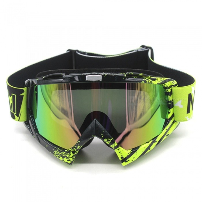 ESAMACT Motocross Cycling Off Road Helmet Ski Sport Goggles Glasses
