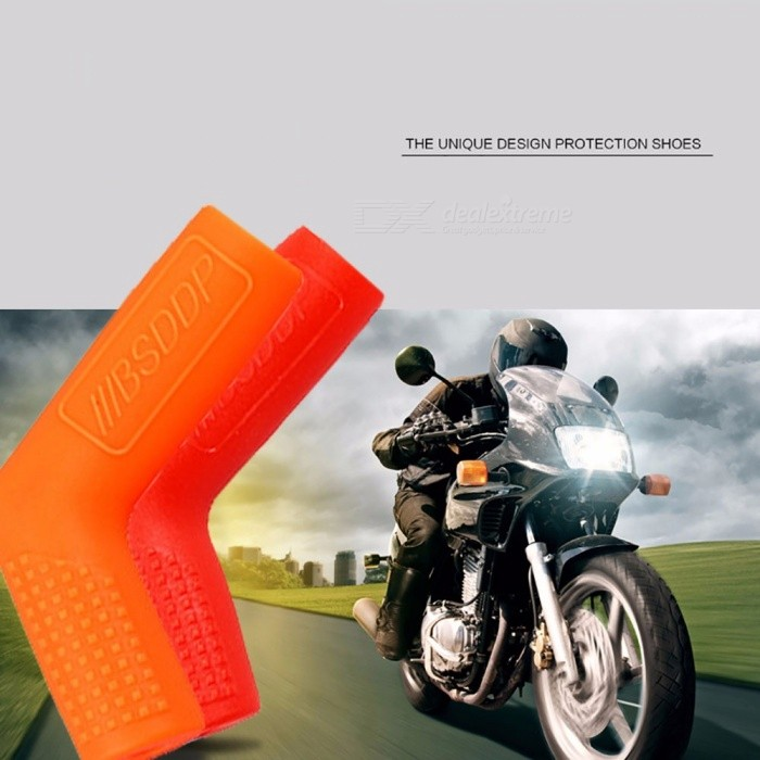 Universal Motorcycle Gear Shift Lever Cover, Thickened Rubber Sock Gear Shifter Boot Shoe, Shift Case Protector