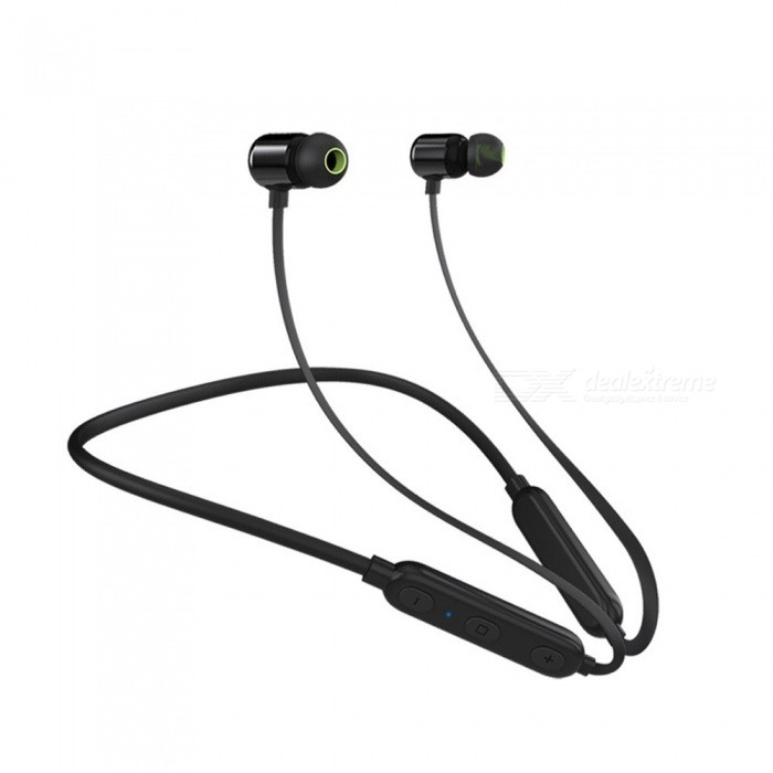 Wireless-Bluetooth-Earphone-Hall-Magnetic-Switch-In-Ear-Earplugs-Portable-Sports-Stereo-Headset-Red
