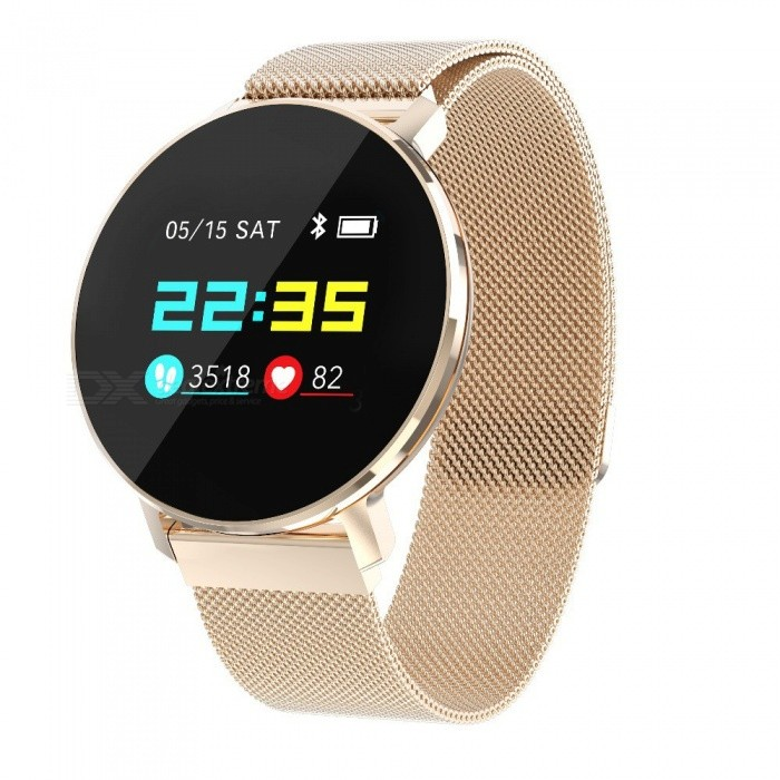 T5 Full Color Screen Smart Bracelet W/ Fitness Activity Tracker, Heart Rate Monitor, BP SPO2 Pedometer, IP68 Waterproof