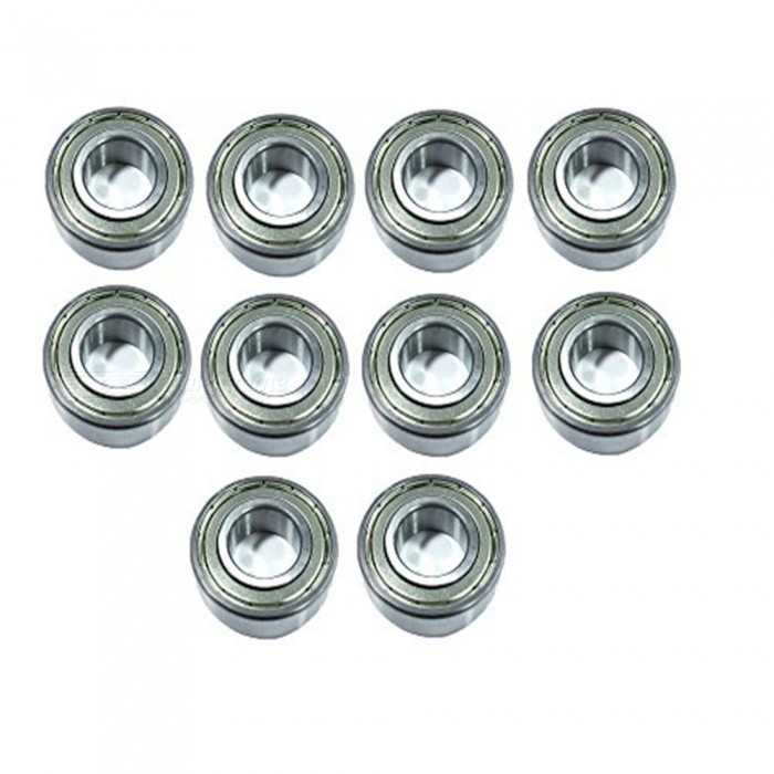 BTOOMET-10Pcs-Metal-Shielded-6205Z-1-x-2-x-06-Deep-Groove-Ball-Bearings-Silver-Tone