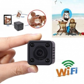 HDQ9 Mini Wi-Fi IP Camera, 1080P HD Wireless DV DVR Camcorder with Night Vision