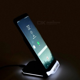 Portable-Qi-Quick-Charge-Wireless-Charger-Stand-Vertical-Wireless-Fast-Charging-Dock-Holder-Bracket-Black
