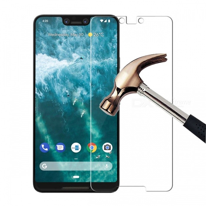 Naxtop Tempered Glass Screen Protector for Google Pixel 3 XL