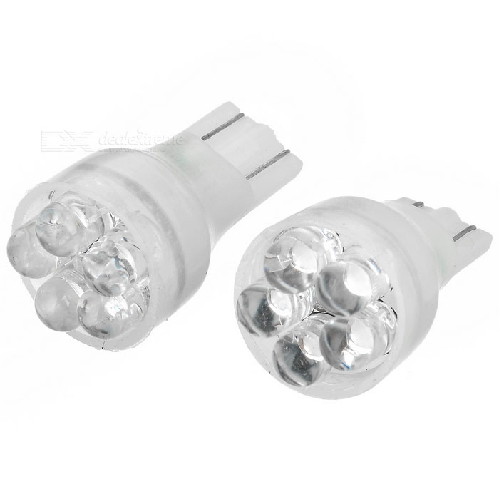 5-LED-signalljus 2-pack (12V T15 White)