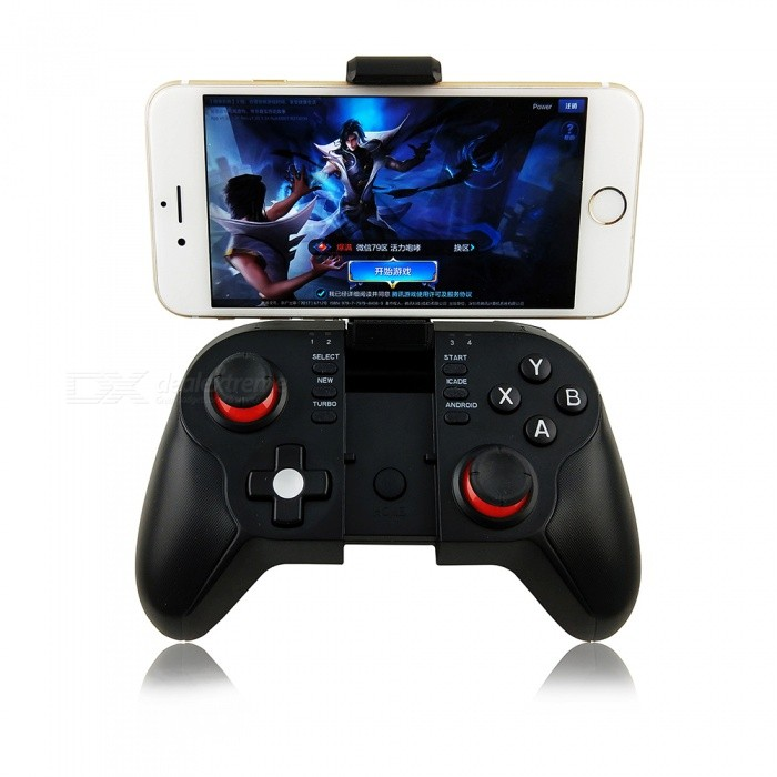Kitbon T9 Bluetooth Wireless Gamepad Joystick Controller w/ Bracket for  Phone, Pad, Smart Box, Smart TV, PC