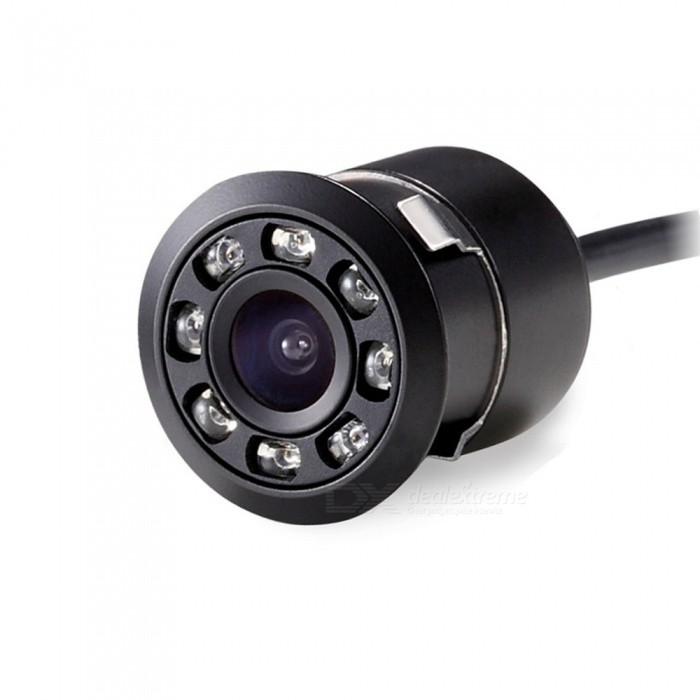 Quelima Car Universal Reversing Camera with 8-LED Infrared Night Vision