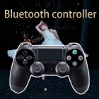 Bluetooth Wireless Game Controller Handle Gamepad, Remote Joystick For PS4, Android, Tablet Came Black