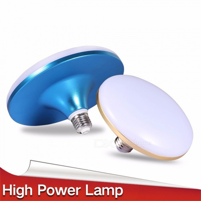 LED Bulb Lamp E27 Power Bombillas LED 15W Spotlights Lights Bulb For Home Living Room Lighting Cold White/15w/Gold