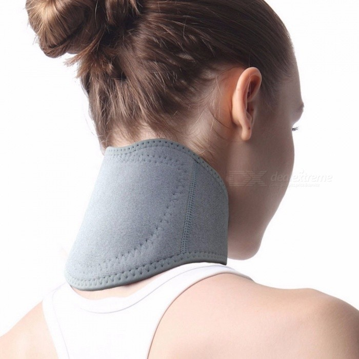 Unisex Spontaneous Heat Neck With Collar Cervical Pain Hot Compress Protectors Thermal Magnetic Therapy Random Color