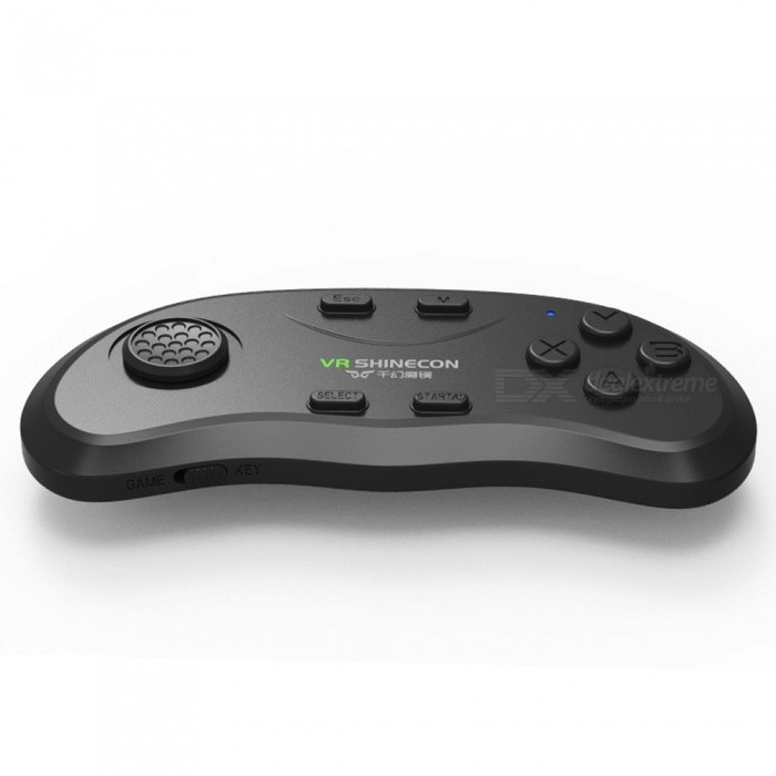 Hot New High Quality Gamepad Bluetooth VR Game Handle Wireless Music Remote  Control SC-B01 For IOS Android Windows Black