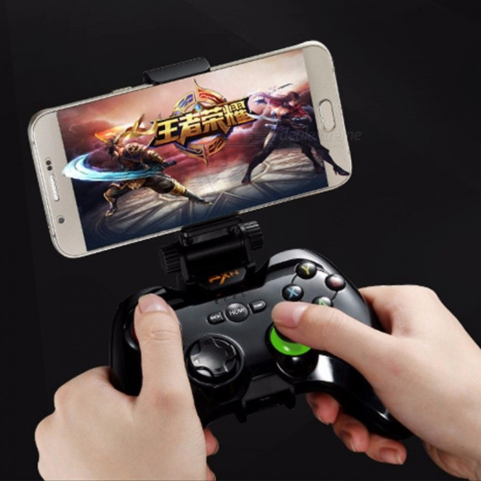 Wireless Bluetooth Gamepad Game Controller Handle Remote Joystick For  Android Devices White