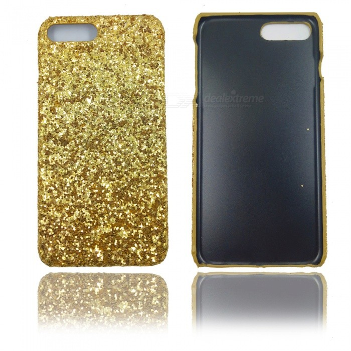 XSUNI Luxury Glitter Mobile Phone Case, Sequin Shell Ultra-thin Protective Cover for IPHONE 7 Plus - Gold