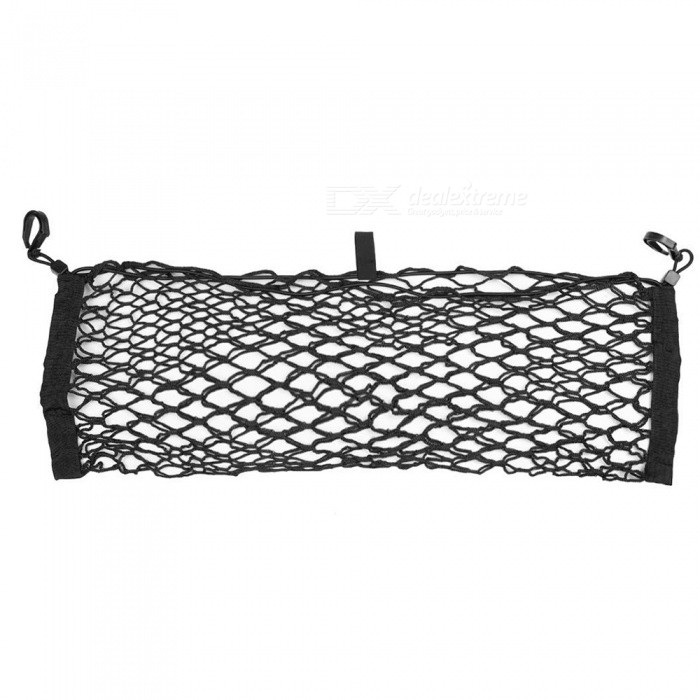 CARKING Black Car Trunk Luggage Organizer Storage Elastic Mesh Net Holder 65 x 23cm