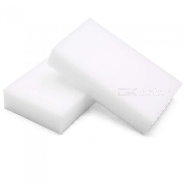 CARKING 2pcs White Car Waxing Polish Foam Wax Cleaning Washing Sponges 10 x 6 x 2cm