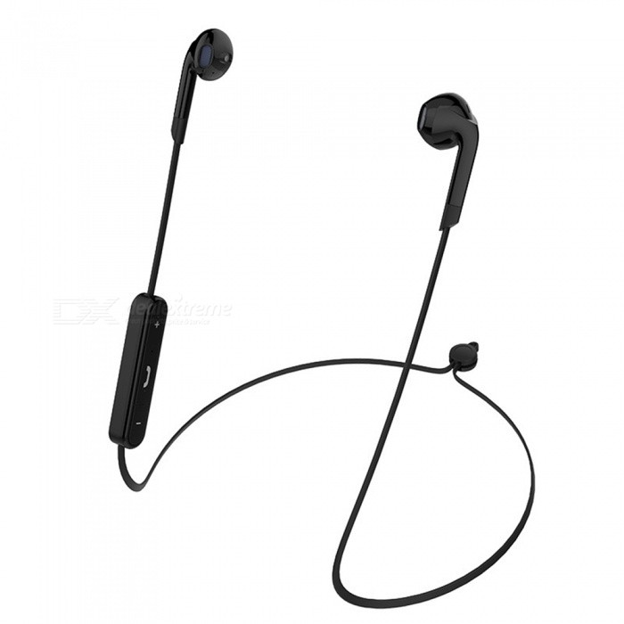 OJADE Wireless Bluetooth V4.2 Earphones Neckband Sports Stereo Bass Earbuds for Xiaomi / IPHONE - Black