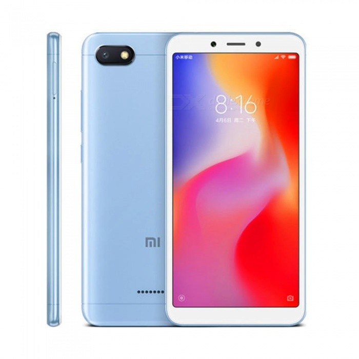 Xiaomi Redmi 6A Android Phone Com 2GB De RAM 16GB ROM Versão Global
