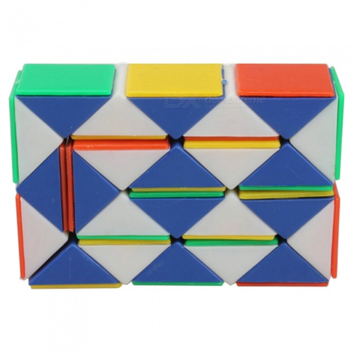 Qiyi Magic Snake Speed Cube Stickerless Magic Cube Puzzles Toys