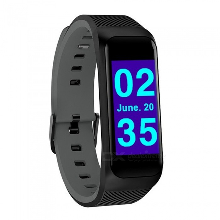 B02 Smart Bracelet Bluetooth Sport Watch Fitness Tracker for Men Women - Black